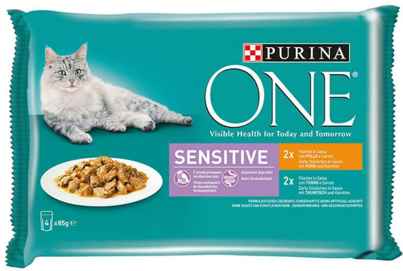 Purina One Sensitive Huhn & Karotten