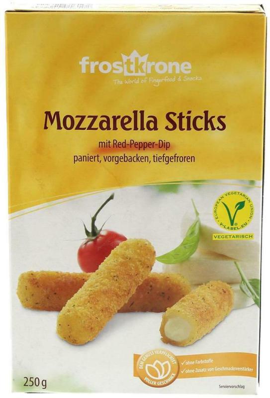 Frostkrone Mozzarella-Sticks