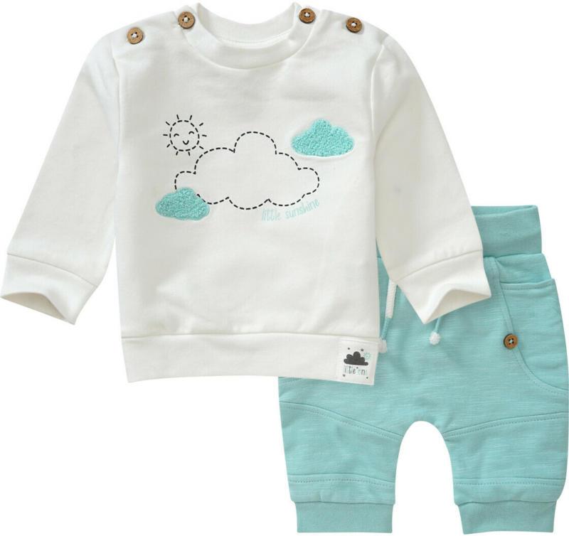 Newborn Sweatshirt und Joegginghose im Set (Nur online)