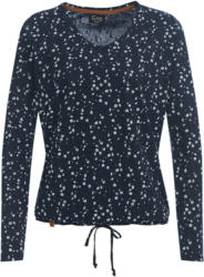 Damen Langarmshirt mit Streublumen-Allover (Nur online)