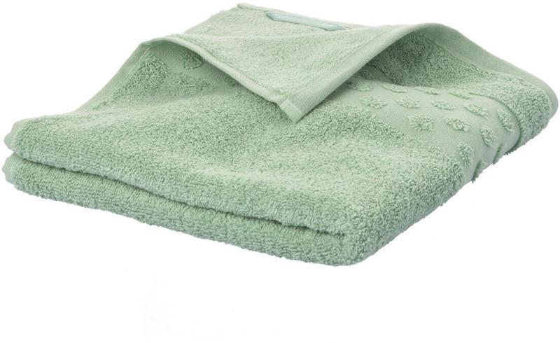 Handtuch mit Tupfen-Bordüre (Nur online)