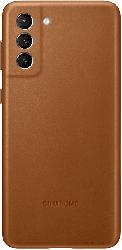 SAMSUNG EF-VG996  , Backcover, Samsung, Galaxy S21+ 5G, Echtleder, Microfaser, Braun
