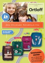 Ortloff: Schulranzenprospekt 2021