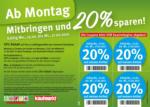 Feneberg Feneberg: Mitbringen und 20% sparen! - bis 17.02.2021