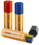 Die Post | La Poste | La Posta STABILO Stylo Fibre point 88 0.4mm 8820 - 1 Big Point 20 pcs.