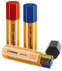 STABILO Feinschreiber point 88 0.4mm 8820 - 1 Big Point 20 Stück
