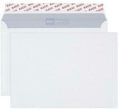ELCO Enveloppe Office s / fenêtre B5 74495.12 100g, blanc 10 pcs.