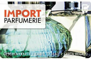 Geschenkkarte Import Parfümerie variabel