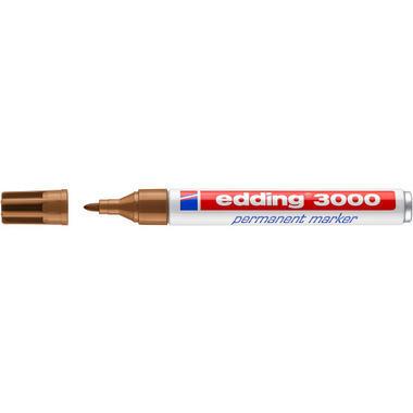 EDDING Permanent Marker 3000 1,5 - 3mm 3000 - 13 ocker