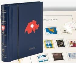 Leuchtturm Album préimprimé Suisse avec étui 2000-2019