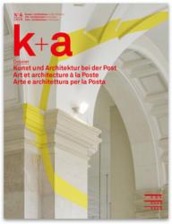 Magazin k+a Kunst und Architektur bei der Post