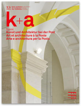 Rivista k+a Arte e architettura per la Posta