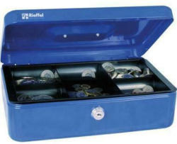 RIEFFEL Geldkassette Valorit VTGK4BLAU 10x30x21,7cm blau