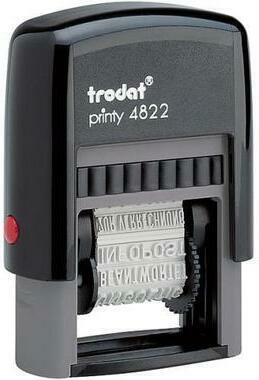 TRODAT Mehrtextstempel 4822DEKSC 4mm D