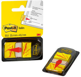 POST - IT Index Tabs 25,4x43,2mm 680 - 31 Sign here / 50 Tabs