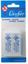 LÄUFER Radierer Plast Soft 69806 2 Stück 65x21x12mm
