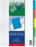 Die Post | La Poste | La Posta BÜROLINE Register Karton farbig A4 604190 5 - teilig