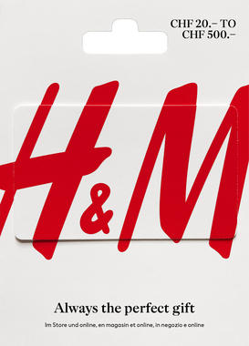 Carte cadeau H&M variable