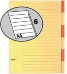 Die Post | La Poste | La Posta BIELLA Register Karton braun A4 46444600 6 - teilig