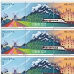 Die Post | La Poste | La Posta 100 ans de l'aéroport de Genève, Feuille