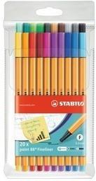 STABILO Feinschreiber point 88 0.4mm 88 / 20 20 Farben ass.