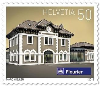 Gares suisses, Rouleau «Fleurier»