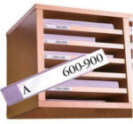 Die Post | La Poste | La Posta RIEFFEL Cassetta soldi Valorit VTGK4BLAU 10x30x21,7cm blu