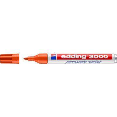 EDDING Permanent Marker 3000 1,5 - 3mm 3000 - 6 orange