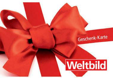 Carte cadeau Weltbild variable