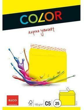 ELCO Dossier Ordo 120g A4 73695.31 blu, finestra 10 pz.