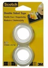 SCOTCH Tape refill 665 12mmx6.3m 136 - 1263R doppelseitig / 2 Rollen