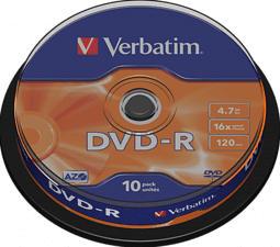 VERBATIM 43523 - DVD-R