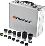 MediaMarkt CELESTRON Filtersatz - Koffer (Silber/Schwarz)