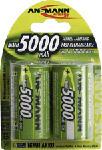 MediaMarkt ANSMANN 5030922 NIMH MONO 5000MAH 2PCS - Wiederaufladbare Batterie