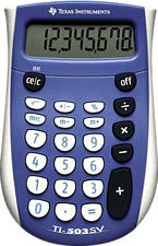 TEXAS INSTRUMENTS TI-503SV - Calculatrices