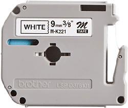 BROTHER MK-221BZ - Etiketten (Schwarz)