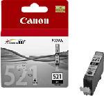 MediaMarkt CANON CLI-521BK, nero - Cartuccia di inchiostro (Nero)