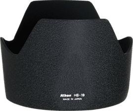 NIKON HB-19 - Gegenlichtblende (Schwarz)