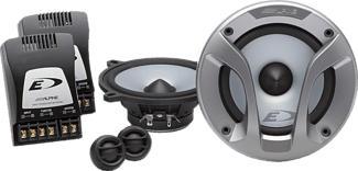ALPINE SPG-13CS - Haut-parleur encastrable (Argent)