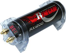 RENEGADE RX1200 - Condensateur de puissance (Noir)