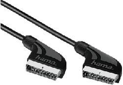HAMA Câble audio/vidéo péritel - Câble de connexion (Noir)