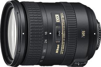 NIKON AF-S DX NIKKOR 18-200mm f/3.5-5.6 ED VR II - Objectif zoom