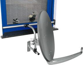 HAMA Easy Mount - Fensterhalter (Silber)