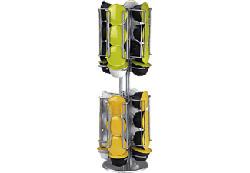XAVAX Porta Capsule Rondello -  (Placcato argento)
