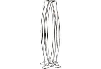XAVAX 111079 Torre - Kapselständer (Silber)