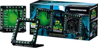 THRUSTMASTER MFD Cougar - Flugsimulator-Instrumententafel (Schwarz)