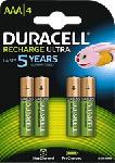 MediaMarkt DURACELL AAA STAYCHARGED 4PCS - Wiederaufladbare Batterie (Grün/Kupfer)