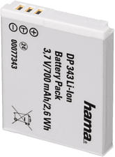 HAMA 77343 DP 343 BATTERY CANON NB-6L -