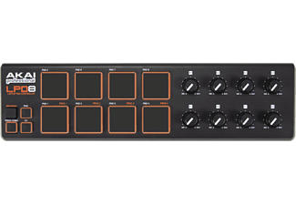 AKAI LPD8 - Controller pad per laptop (Nero)
