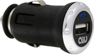 AIV 530367 - Adattatore di ricarica (Nero/Grigio)